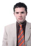 Retrato joven hermoso del hombre de negocios Fotos de archivo
