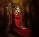 Retrato la muchacha Imagenes de archivo