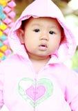 Retrato lindo del bebé del bebé foto de archivo