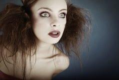 Retrato louco Foto de Stock