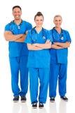 Retrato médico dos profissionais foto de stock