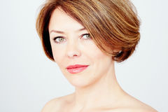 Retrato maduro da mulher fotos de stock royalty free