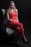 Retrato maravilhoso da forma de mulheres encantadores Imagens de Stock Royalty Free