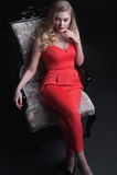 Retrato maravilhoso da forma de mulheres encantadores Fotografia de Stock Royalty Free
