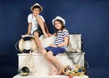 Retrato marino del estilo Fotografía de archivo libre de regalías