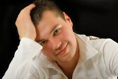 Retrato masculino imagen de archivo