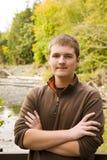 Retrato masculino adolescente Foto de archivo
