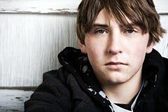 Retrato masculino adolescente Generaion X Imagen de archivo libre de regalías