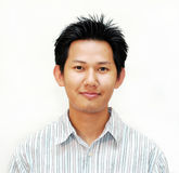 Retrato masculino asiático Fotografía de archivo