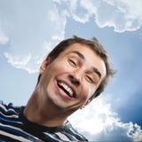 Retrato masculino divertido fotos de archivo libres de regalías