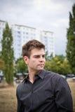 Retrato masculino novo Fotos de Stock Royalty Free