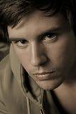 Retrato masculino novo Fotos de Stock