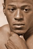 Retrato masculino novo Foto de Stock