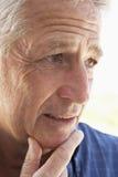Retrato mayor de un hombre imagen de archivo libre de regalías