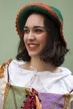 Retrato medieval Fotografía de archivo