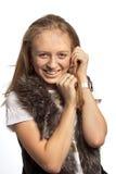 Retrato a menina Fotografia de Stock