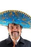 Retrato mexicano imagens de stock