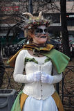 Retrato misterioso da mulher imagens de stock royalty free