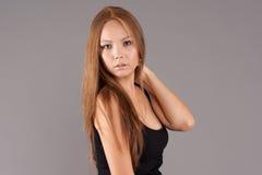 Retrato modelo asiático Imagem de Stock Royalty Free