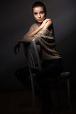 Retrato modelo bonito Fotos de Stock Royalty Free