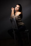 Retrato modelo bonito Fotografia de Stock