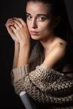 Retrato modelo bonito Foto de Stock Royalty Free