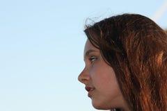 Retrato modelo do adolescente Foto de Stock Royalty Free