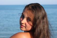 Retrato modelo do adolescente Fotos de Stock Royalty Free