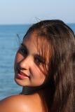 Retrato modelo do adolescente Imagem de Stock