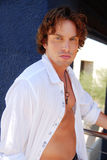 Retrato modelo masculino considerável Imagens de Stock Royalty Free