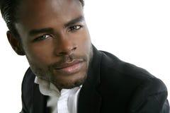 Retrato modelo novo do americano africano fotografia de stock royalty free