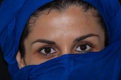 Retrato musulmán de la mujer Imagenes de archivo