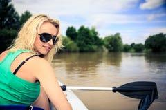 Retrato na água Fotografia de Stock Royalty Free