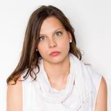 Retrato natural adolescente joven Imágenes de archivo libres de regalías
