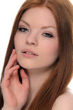 Redhead da beleza foto de stock royalty free