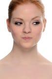 Redhead da beleza fotos de stock