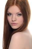 Redhead de la belleza Fotografía de archivo libre de regalías