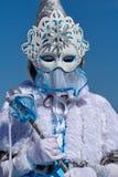 Retrato no carnaval em Annecy, França Foto de Stock