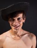 Retrato no chapéu Fotografia de Stock Royalty Free