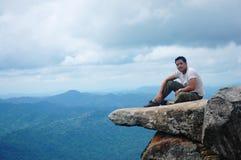 Retrato no parque nacional do PA HIN NGAM Fotografia de Stock