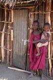 Retrato novo de Masaai Foto de Stock Royalty Free