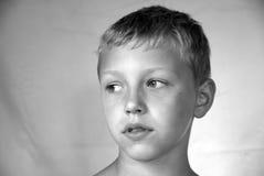 Retrato novo do menino Imagens de Stock