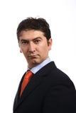 Retrato novo dos homens de negócio sobre Imagem de Stock Royalty Free