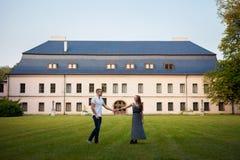 Retrato novo República Checa dos pares foto de stock royalty free