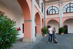 Retrato novo República Checa dos pares fotografia de stock royalty free