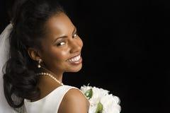 Retrato nupcial. Fotos de Stock Royalty Free