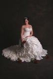 Retrato nupcial bonito Imagens de Stock Royalty Free