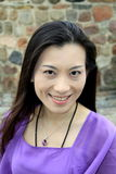 Retrato ocasional da menina asiática Imagens de Stock