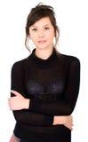 Retrato ocasional da mulher Fotos de Stock
