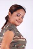 Retrato ocasional da mulher Fotos de Stock Royalty Free